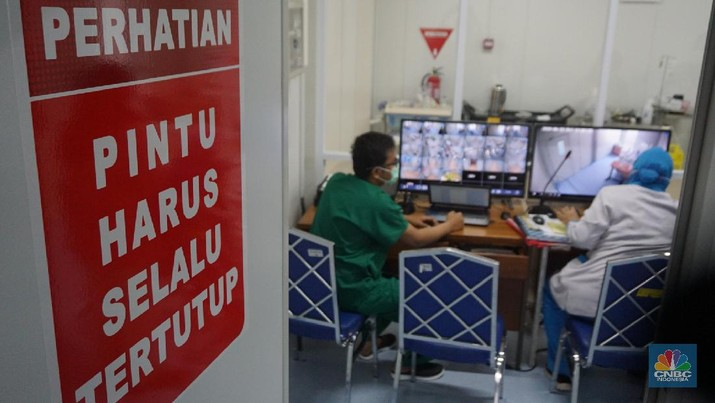 RS Pertamina Jaya jadi rumah sakit khusus penanganan Covid-19. (CNBC Indonesia/Tri Susilo)