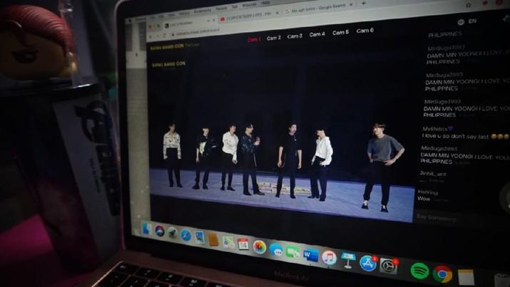 Konser BTS Secara Virtual