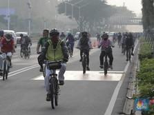 63 KM Jalur Sepeda Anies, Goweser: Cuma Aspal yang Dicat!