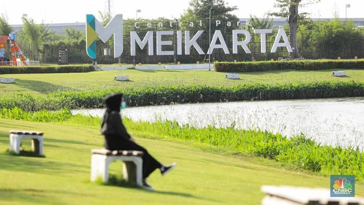 Meikarta. (CNBC Indonesia/ Andrean Kristianto)