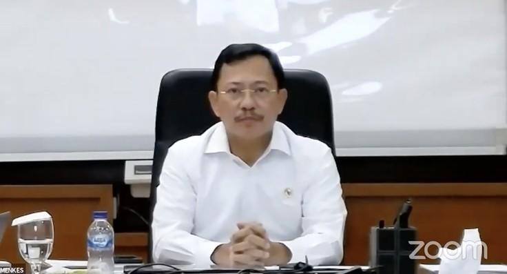 Menteri Kesehatan Terawan Agus Putranto (Tangkapan Layar Youtube KEMENDIKBUD RI)