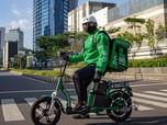 Pakai e-Bike, Malvin Banting Setir Jadi Mitra GrabFood