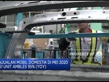 Penjualan Mobil Domestik Periode Mei Anjlok 95%