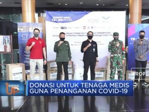 CT Arsa Foundation & Dompet Amal Transmedia Salurkan Donasi