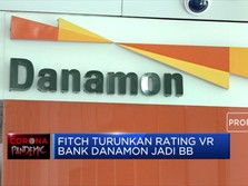 Fitch Turunkan Rating VR Bank Danamon Jadi BB