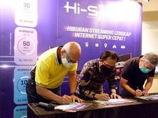 Transvision Hadirkan Layanan Internet Transvision Hi-Speed