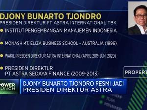 Sah! Djony Bunarto Tjondro Resmi Jadi Presiden Direktur Astra