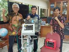 Lulus Uji Klinis, Ventilator Buatan UI Siap Dikirim ke RS