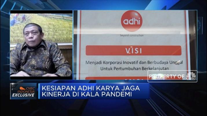 Adhi Karya: Proyek Konstruksi Pemerintah Terus Berjalan Saat Pandemi (CNBC Indonesia TV)