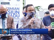 Anies Baswedan Targetkan 5 Stasiun Lagi Jadi Moda Terpadu