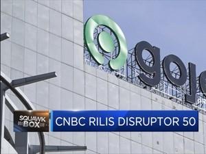 CNBC Rilis Disruptor 50, Gojek Masuk 10 Besar
