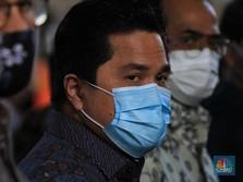 Erick Sebut Imunisasi Massal Vaksin Corona di Bawah TNI/Polri