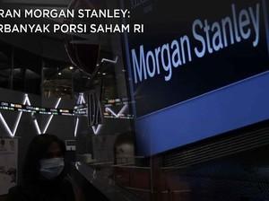 Saran Morgan Stanley: Perbanyak Porsi Saham & Obligasi RI