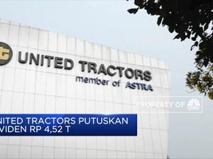United Tractors Putuskan Dividen Rp 4,52 T