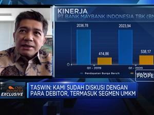 Bos Maybank: Restrukturisasi Bisa Gerus Profit Hingga 25%