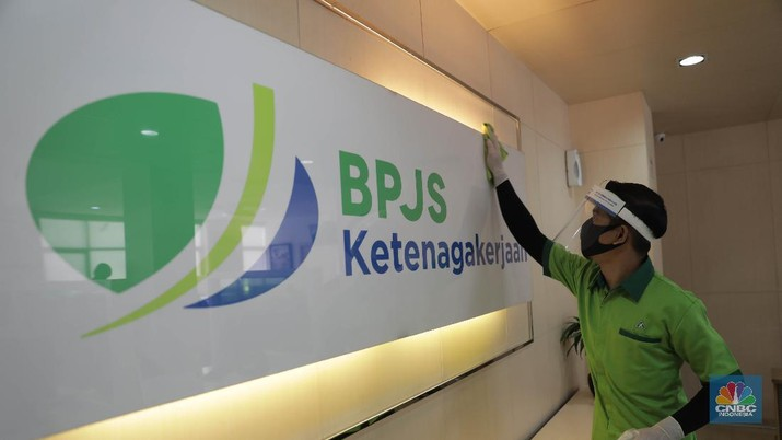 BPJS Ketenagakerjaan (CNBC Indonesia/ Muhammad Sabki)