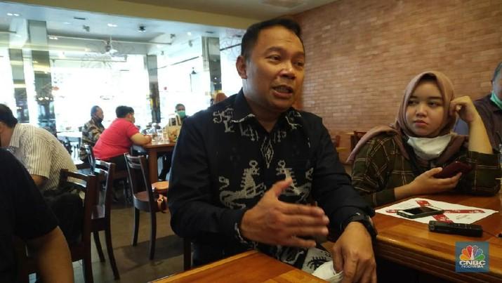 Direktur Utama Bank Bukopin, Rivan purwantono (CNBC Indonesia/ Yuni Astutik)
