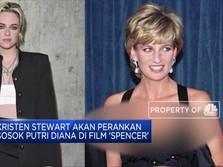 Kristen Stewart Berlakon sebagai Lady Diana di Film Spencer