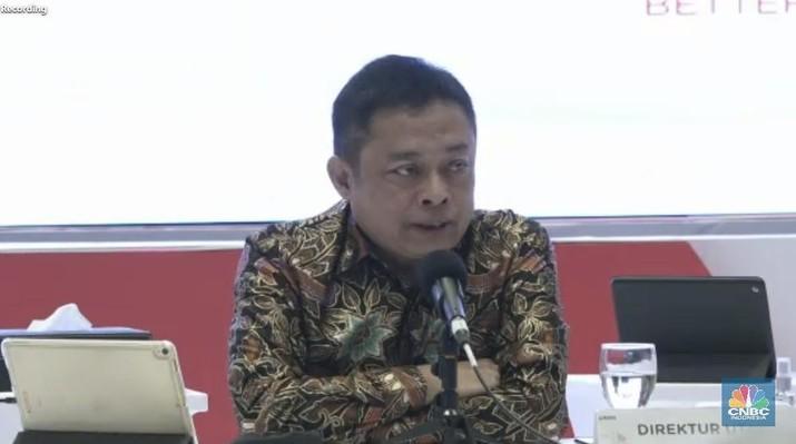 Direktur Utama Telkom, Ririek Adriansyah