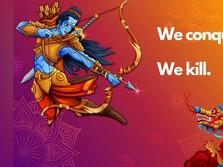 Heboh! Dewa Rama vs Naga Warnai 'Panas' India-China