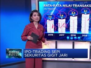 IPO-Trading Sepi Sekuritas Gigit Jari