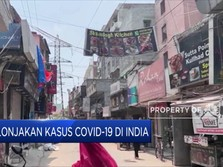 Lonjakan Kasus Covid-19 di India