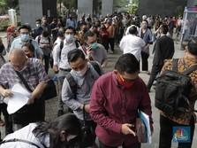 Penampakan Ratusan Nasabah KSP Indosurya Geruduk PN Jakpus