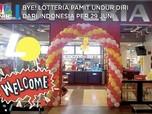 Tutup! Lotteria Pamit Undur Diri dari Indonesia per 29 Juni