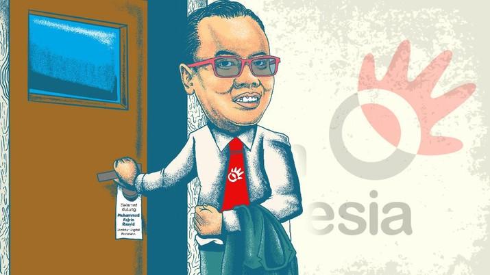 Infografis/Dirut Telkom Termuda Sepanjang Sejarah, Siapa Dia?/Aristya Rahadian Krisabella