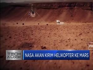 Canggih! NASA Akan Kirim Helikopter Ke Mars