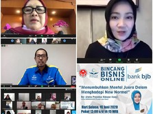 New Normal, bank bjb Dorong Debitur & UMKM Berkarya Maksimal