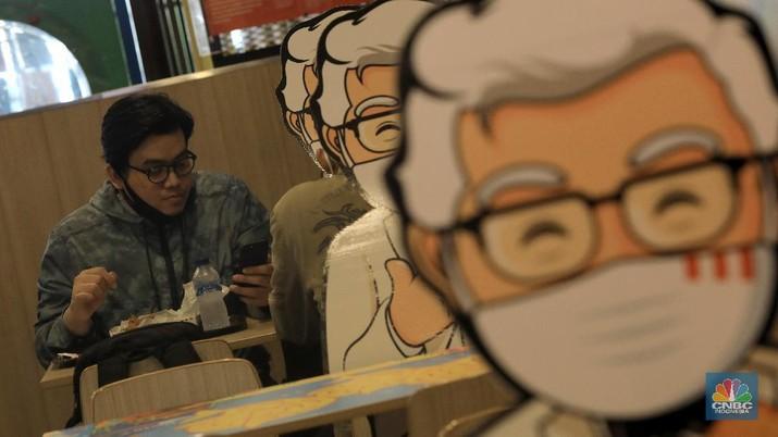 Ilustrasi Restoran KFC. CNBC Indonesia/Andrean Kristianto