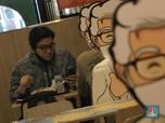 'Boleh Makan di Resto asal tidak ada yang Duduk Bersebelahan'