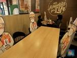 Lusa, Makan di Tempat Resto Bodebek Dilarang Mulai Jam 6 Sore