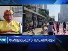 Kiat Gowes Aman di Masa New Normal Ala Bike to Work