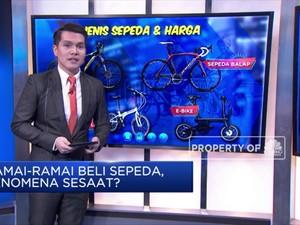 Wah! Ramai-Ramai Warga RI Beli Sepeda, Fenomena Sesaat?