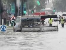 Hujan Deras, Singapura Diterjang Banjir Bandang