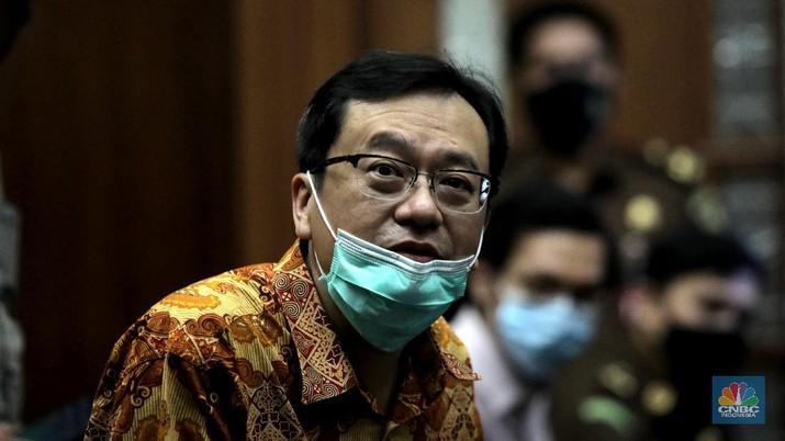 Benny Tjokro. CNBC Indonesia/Muhammad Sabki