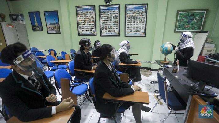 Ilustrasi Sekolah. CNBC Indonesia/Andrean Kristianto
