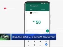 Regulator Brasil Setop Layanan WhatsApp Pay