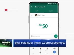 Regulator Brasil Setop Layanan WhatsApp Pay