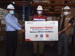 Lawan Corona, Pertamina Serahkan 305 Ventilator Untuk RS BUMN