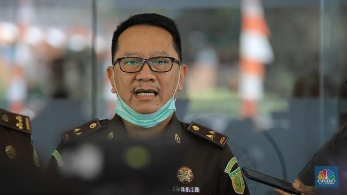 Kapuspenkum Kejaksaan Agung RI, Hari Setiyono. CNBC Indonesia/Andrean Kristianto