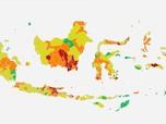 Covid-19 Mengganas, 60 Daerah di Indonesia Masuk Zona Merah
