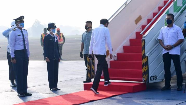 Presiden Akan Tinjau Posko Penanganan dan Penanggulangan Covid-19 Jawa Timur. Dok: Biro Pers Sekretariat Presiden