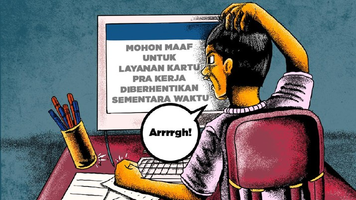 Infografis/ Update Lengkap Kartu Prakerja Gelombang 4 & Insentif Cair/Aristya Rahadian