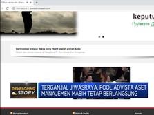 Ini Klarifikasi Pool Advista AM Terkait Jiwasraya
