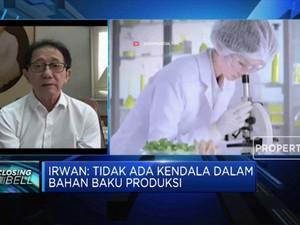 Lawan Pandemi, Sido Muncul Tingkatkan Produksi Jamu Herbal