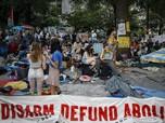 Sudah Sebulan, Demo Bela George Floyd Terus Ramai di NY