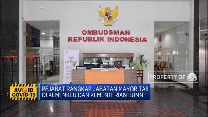 Ombudsman Soroti ASN yang Rangkap Jabatan